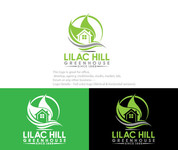 Lilac Hill Greenhouse Logo - Entry #70