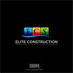 Elite Construction Services or ECS Logo - Entry #330