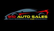 910 Auto Sales Logo - Entry #38