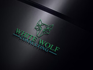 White Wolf Consulting (optional LLC) Logo - Entry #475