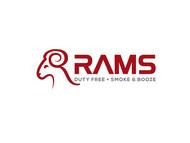 Rams Duty Free + Smoke & Booze Logo - Entry #105