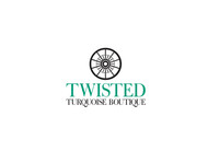 Twisted Turquoise Boutique Logo - Entry #139