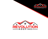 Revolution Roofing Logo - Entry #140