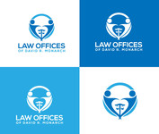 Law Offices of David R. Monarch Logo - Entry #180