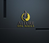 Allure Spa Nails Logo - Entry #130