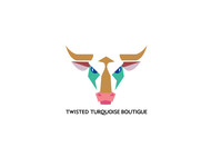 Twisted Turquoise Boutique Logo - Entry #122