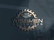 Wisemen Woodworks Logo - Entry #224