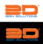 3D Sign Solutions Logo - Entry #67