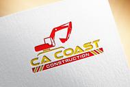 CA Coast Construction Logo - Entry #285