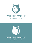White Wolf Consulting (optional LLC) Logo - Entry #175