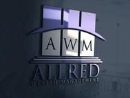 ALLRED WEALTH MANAGEMENT Logo - Entry #414