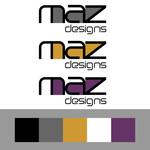 Maz Designs Logo - Entry #80