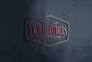 Two Brothers Roadhouse Logo - Entry #153